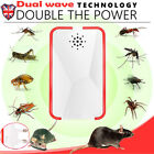1/2/4 PCS Ultrasonic Pest Repeller UK Plug In Pest Rodent /Mice/Rat/Spider/Insec