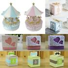 50PCS Cute Letters Candy Sweets Gift Boxes Girl Boy Baby Shower Birthday Favors