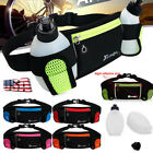 Waterproof Bottle Holder Waist Pack Fanny Sport Fitness Running Jogging Belt USA image