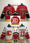 Free Shipping Mens Johnny Gaudreau 13 Calgary Flames Stitched Jersey