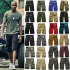 Men Casual Camo Combat Military Army Cargo Work Shorts Beach Short Pant Trousers