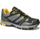 MENS WATER RESISTANT HIKING BOOTS WALKING ANKLE TRAIL TREKKING TRAINERS SHOES SZ