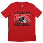 Outerstuff NFL Youth Atlanta Falcons Team Color Short Sleeve Tee $9.99 USD on eBay
