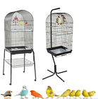 *NEW* RAINFOREST CARACUS LARGE BLACK BUDGIE COCKATIEL FINCH CANARY CAGE & STAND