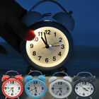 Alarm Clock Digital Large LED Display USB/Battery Operated Voice Control Bedroom