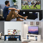 Kyпить High Gloss TV Stand Unit Cabinet w/LED Shelves Drawers Remote Control на еВаy.соm