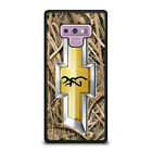 CAMO BROWNING CHEVY Samsung Galaxy Note 4 5 8 9 Case Cover