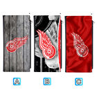 Detroit Red Wings Leather Wallet Purse Thin Card Holder Handbag $14.99 USD on eBay