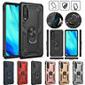 For Huawei P30 Pro Lite P Smart 2019 Y6 Case Shockproof Armor Ring Stand Cover