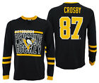 Outerstuff NHL Men's Pittsburgh Penguins Sidney Crosby #87 Shootout Tee $12.99 USD on eBay