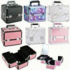 Large Beauty Case Professional Cosmetic Makeup Vanity Nail Storage Box Travel