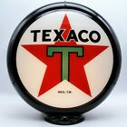 """TEXACO STAR 13.5"""" Gas Pump Globe - SHIPS FULLY ASSEMBLED! READY FOR YOUR PUMP!!"""