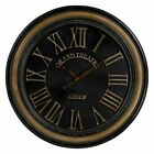 Sterling 36 in. Wall Clock with Hand Painted Frame