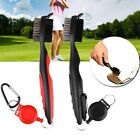 Golf Brush Club Groove Cleaner Retractable Zip-line Cleaning Kit Tool Washer Gif
