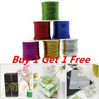 23 Meters 6 Colors Metallic Cord DIY Crafts Gift Wrapping String Party Favors HA
