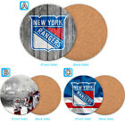 New York Rangers Wood Coaster Cup Drink Mat Pad Placemat Tea $3.49 USD on eBay