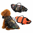 Swimming Life Jacket Float Vest Reflective Water Safety Saver For Pet Dog  XS-L