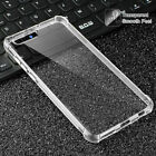 Clear Shockproof Slim TPU Cover Case For Huawei Honor 8 9 10 Pro Lite 7X 6X 6A