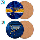St. Louis Blues Wood Coaster Cup Drink Mat Pad Placemat Tea $3.99 USD on eBay