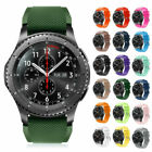 For Samsung Gear S3 Frontier/Classic Watch Silicone Bracelet Strap Watch Band US image