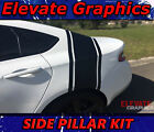Fits Dodge Dart Side Pillar Stripes Vinyl Graphics 3M decal Stickers 2013-2020 $49.99 USD on eBay