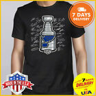 St Louis Blues 2019 Stanley Cup Champions Goaltender Signature T-Shirt Black Tee $13.99 USD on eBay