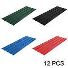 12 Pcs Corrugated Roof Sheets Profile Galvanized Metal Sheet Roofing Carport