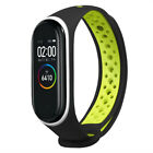 Sport Casual Ventilate Sport Soft Watchband Wrist Strap For Xiaomi Mi Band 4 US