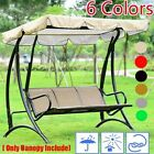 Sunshade Cover Outdoor Garden Patio Swing Canopy Seat Top Cover Replacement