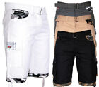 Geographical Norway Herren Cargo Shorts Kurze Hose Short Bermuda Sommer Parking