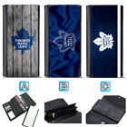 Toronto Maple Leafs Leather Wallet Trifold Clutch Purse Coin Card Handbag $15.99 USD on eBay