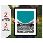 MIAMI DOLPHINS Photo Poster HARD ROCK Football Stadium Skyline Print 8x10 11x14 on eBay
