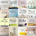 Family Quote Wall Sticker Removable Art Vinyl Decal Mural Home Living Room Decor