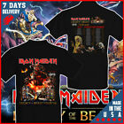 New Iron Maiden Legacy Of The Beast Tour 2019 T-Shirt Black Cotton T Shirt S-6XL image