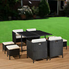 Rattan Garden Furniture Patio Dining Set 8 Seat Cube Indoor Outdoor Conservatory