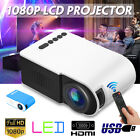 7000 Lumens 3D LED Projector Full HD 1080P Home Cinema Theater Multimedia HDMI