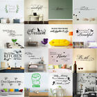 Removable Family Quote Wall Sticker Art Vinyl Decal Mural Home Living Room Decor