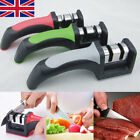 Kitchen Knife Sharpener 2-Stage Knife Sharpening Tool With Anti Slip Bas UK