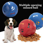 Pet Dog Puzzle Toy Tough-Treat Ball Food Dispenser Interactive Puppy Play Toy UK
