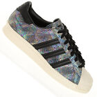 Adidas Superstar 80s Leather Trainers Animal Shimmer Snake Limited Edition