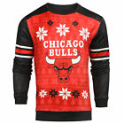 Forever Collectibles NBA Men's Chicago Bulls Printed Ugly Sweater on eBay
