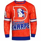 NFL Men's Denver Broncos Shannon Sharpe #84 Retired Player Ugly Sweater $49.99 USD on eBay