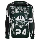 KLEW NFL Men's New York Jets Darrelle Revis #24 Ugly Sweater $29.99 USD on eBay
