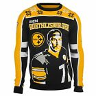KLEW NFL Men's Pittsburgh Steelers Ben Roethlisberger #7 Ugly Sweater $29.99 USD on eBay