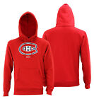 Reebok NHL Men's Montreal Canadiens Jersey Crest Pullover Hoodie $33.96 USD on eBay