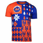 FOCO MLB Men's New York Mets Busy Block Ugly Crew Neck Tee on Ebay