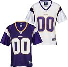 "Reebok NFL Women's Minnesota Vikings Team ""00"" Jersey, Color Options on eBay"
