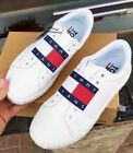 Tommy Jeans Sneaker Running Sport Casual Shoes Womens Unisex White Trainers UK