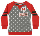 OuterStuff NFL Youth Girls Team Logo Polka Dot Print Crew, Tampa Bay Buccaneers $17.5 USD on eBay