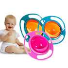 Внешний вид - 360 Rotating Bowl Magic Baby Feeding Toddler Gyro Bowl Non No Spill Kid Gift